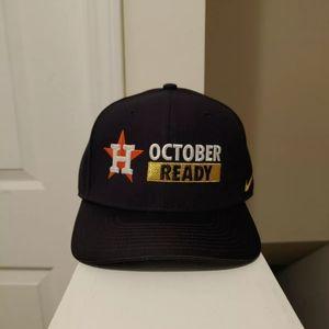 NIKE HOUSTON ASTROS OCTOBER READY SNAPBACK HAT
